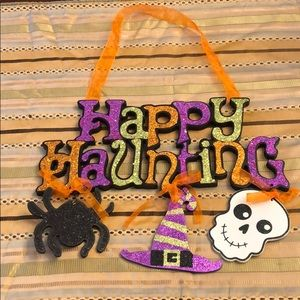 Happy Haunting Door Hanger